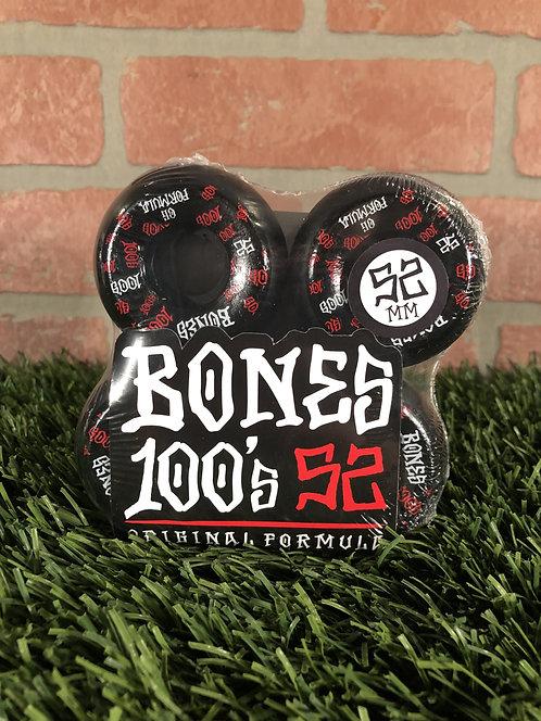Bones 100's V5 - 52mm