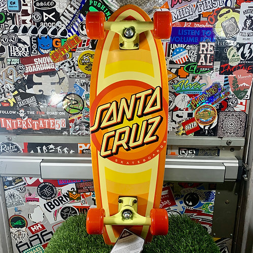 "Santa Cruz - Gleam Dot Shark 8.8x27.7"" Cruiser Complete"