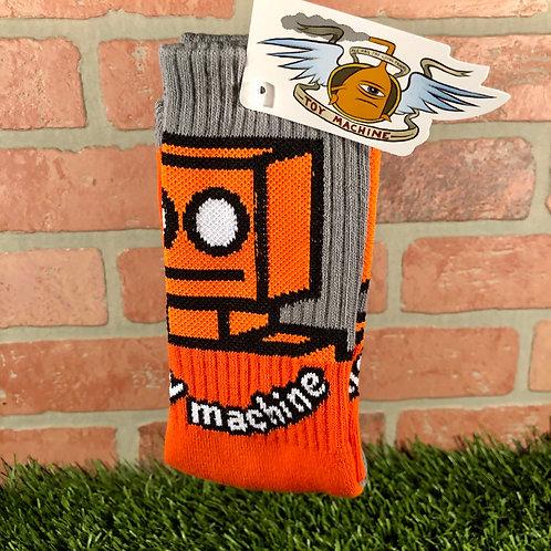 Toy Machine - Robot Orange Sock