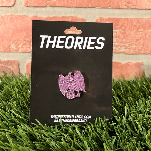 Theories of Atlantis - Owl Pin