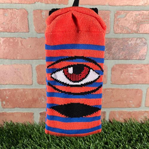 Toy Machine - Sect Eye Stripe - Red/Blue