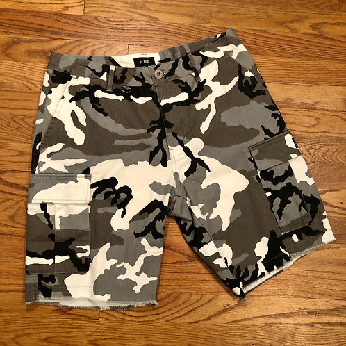 Huf - Standard Issue Cargo Shorts White Camo