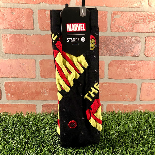Stance - Invincible Iron Man - Black - L