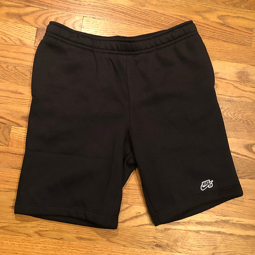 Nike SB - Logo Sweat Shorts Black