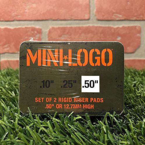 "Mini Logo - .5"" Risers"