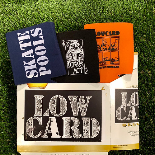 LowCard Coozie 6 Pack