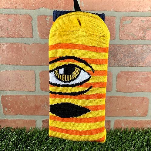 Toy Machine - Sect Eye Stripe - Yellow/Navy