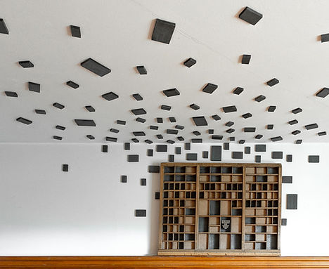 Raumsinstallation // Kloster Dornach // Andrea Nottaris