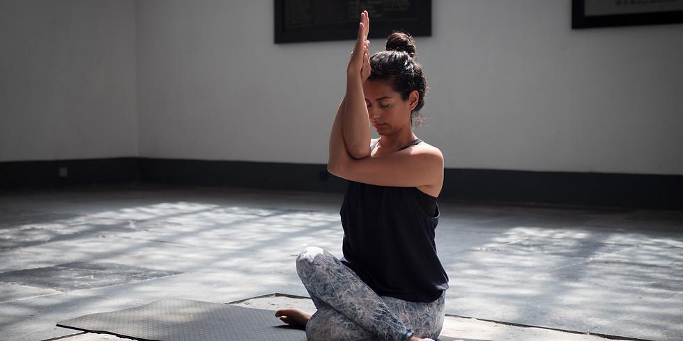 Maanflow yoga in de Grote Kerk Naarden
