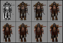 Character warrior 1-9