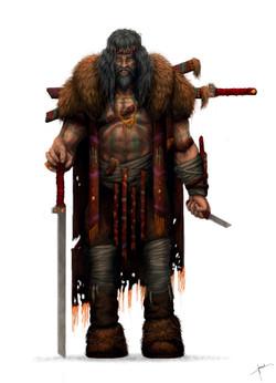 Character warrior