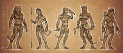 Character sketch design