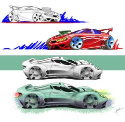Cars sketch