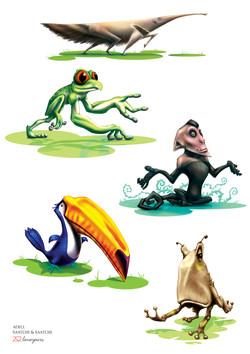 Animal caricature