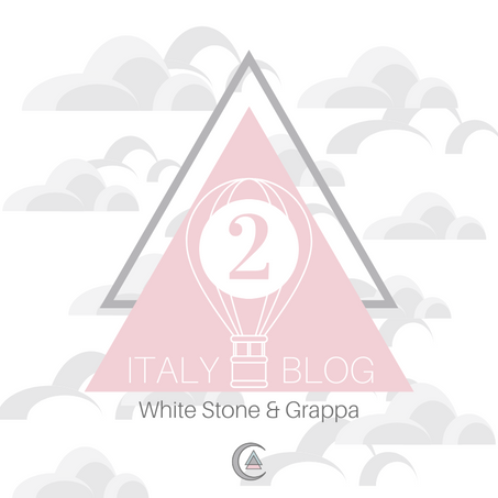 Italy Part II: White Stone & Grappa
