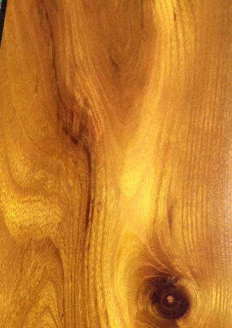 Close up of osage orange wood