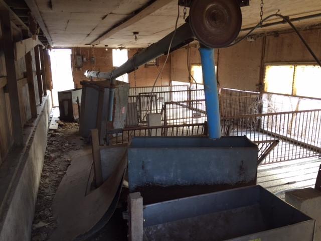 Old hog facility on Hogeland Farm