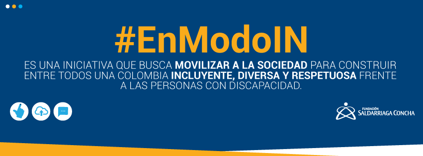 #EnModoIN. Foto y publicidad Fundación Saldarriaga Concha