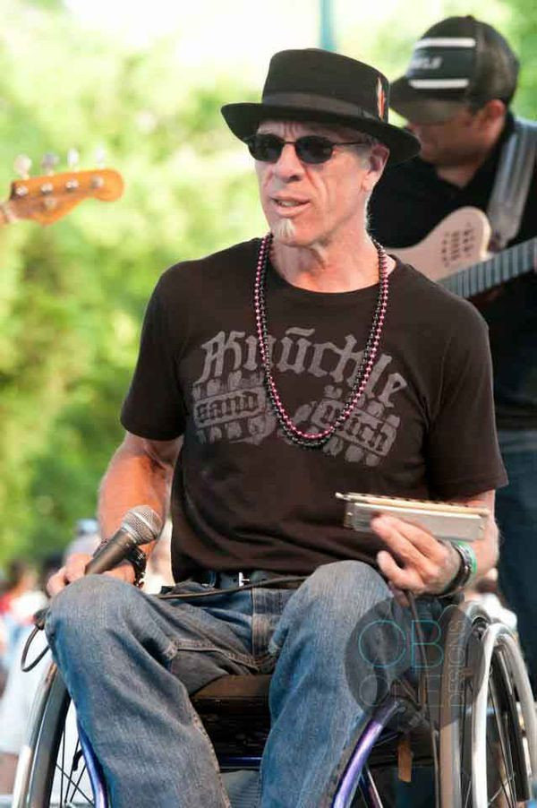 Musician Travels 302 Miles in Wheelchair to Raise Money for Wheelchairs