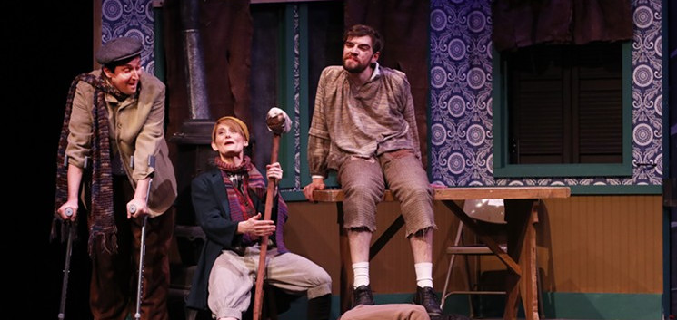 Second City's Twist Your Dickens)