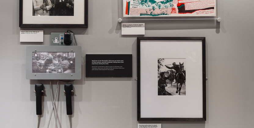 WOMEN AND THE MINERS STRIKE EXHIBITION-1