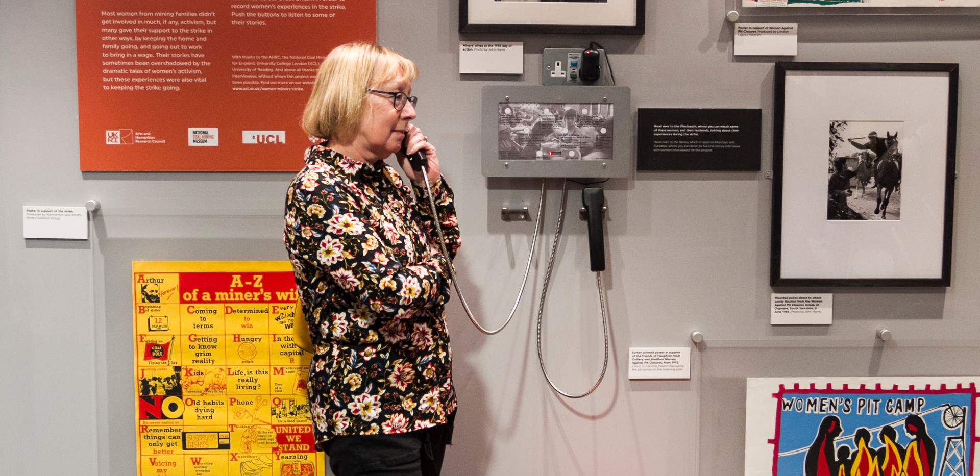 WOMEN AND THE MINERS STRIKE EXHIBITION-3