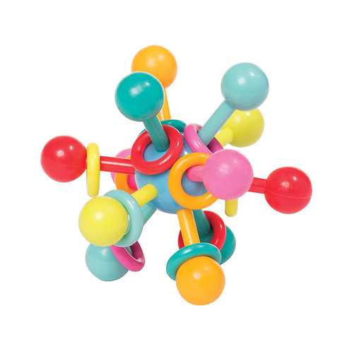 Atom Teether Toy by The Manhattan Toy Company