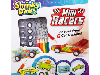 Shrinky Dinks Mini Racers