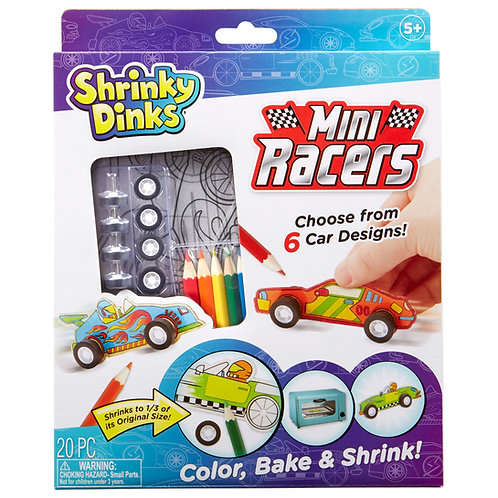 Shrinky Dinks Mini Racers by ALEX Brands