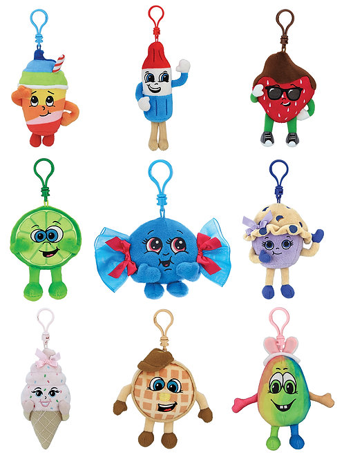 Whiffer Sniffers Clips, Series 6 by Bearington Collection