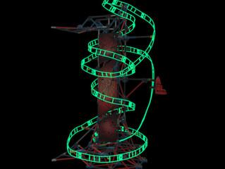 K'NEX THRILL RIDES: Web Weaver Roller Coaster Building Set