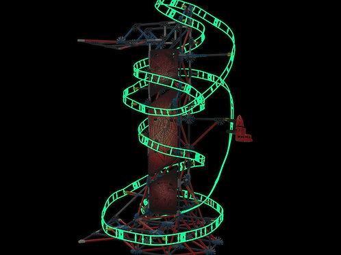 K'NEX THRILL RIDES: Web Weaver Roller Coaster Building Set by K'NEX