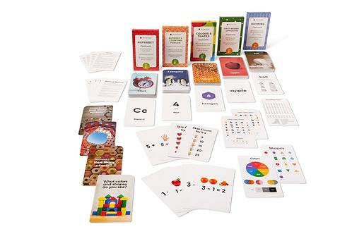 Preschool Flash Cards Learning Bundle