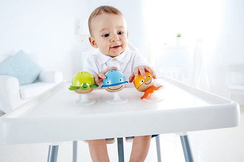 Stay-put Rattle Set by HAPE Toys