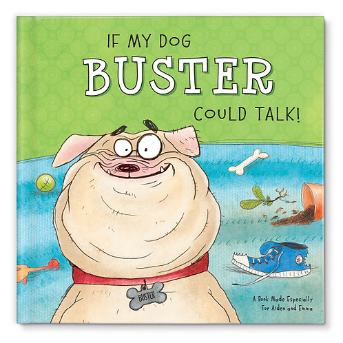 If My Dog Could Talk Personalized Book for Dogs by I SEE ME!