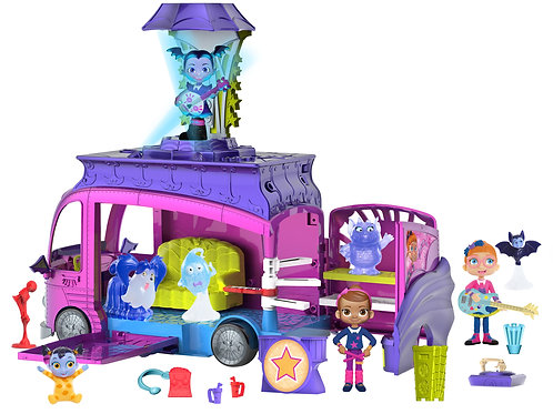 Disney Junior Vampirina Rock N' Jam Touring Van by Just Play