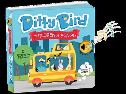Ditty Bird Musical Book – Children's Songs