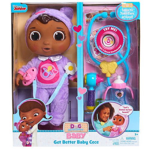 Doc McStuffins Get Better Baby Cece Doll by Just Play