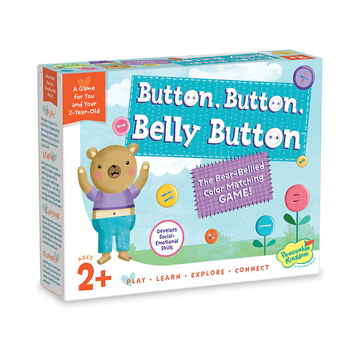 Button, Button, Belly Button by Peaceable Kingdom - A MindWare Brand