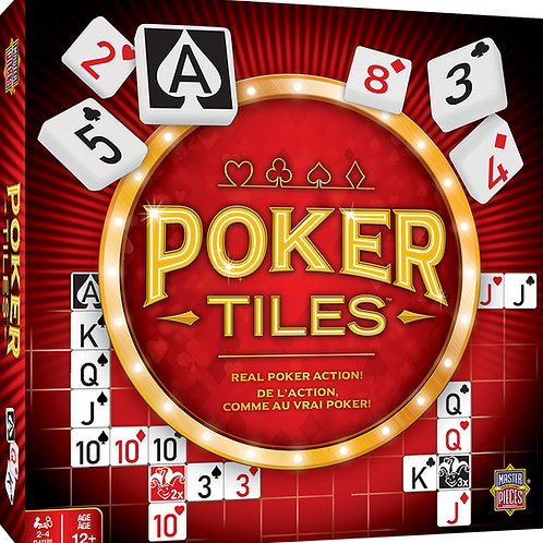 Poker Tiles by MasterPieces Inc.