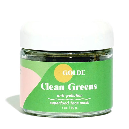 Clean Greens Face Mask by Golde