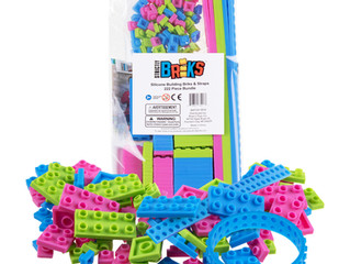 222 pc. Silicone Briks & Straps by Strictly Briks