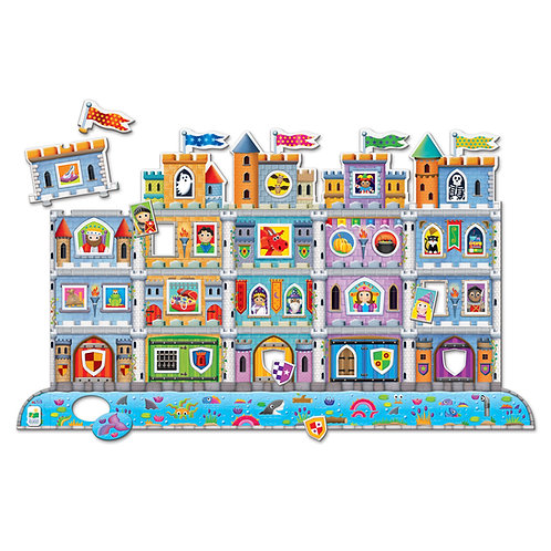 Puzzle Double! Create A Scene Castle