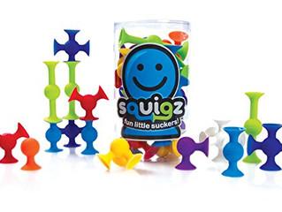 Fat Brain Toys Squigz- Starter Set Building Kit