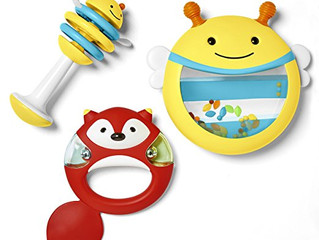 Skip Hop Baby Explore and More Musical Instrument Rattle Shaker Toy Set