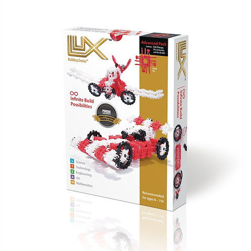 Lux Race Car / Airplane 2-In-1 Kit by Lux Blox LLC