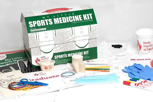 My Little Sports Medicine Kit by Little Medical School