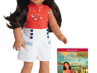Nanea Doll and Book by American Girl