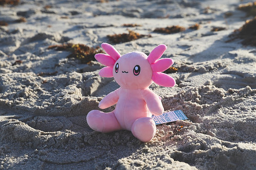 Axol the Axolotl Weighted Plushie