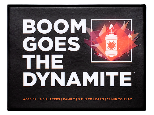 BOOM GOES THE DYNAMITE Card Game by Ok2Win